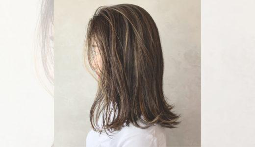 最新《切りっぱなし×ミディアム》|おすすめヘアスタイル&顔型も紹介