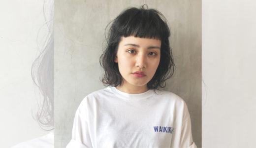 《ワイドバング》でつくる旬顔スタイル集|顔型別似合わせカットも紹介